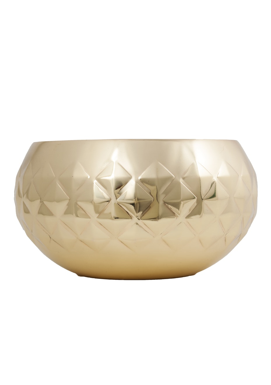 General Eclectic - Diamond Bowl Brass