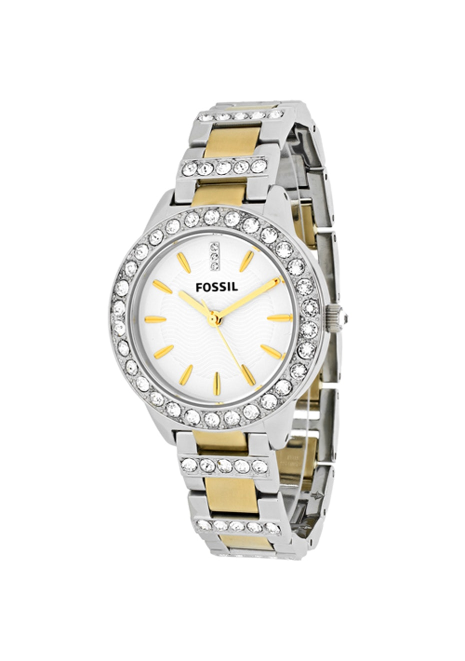 Fossil Women's Jesse - White/Silver/Gold