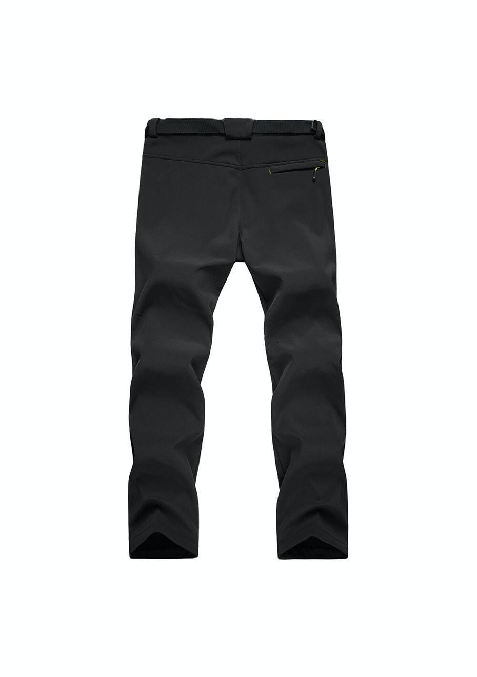 Men 2-in-1 WaterProof Pants - Black