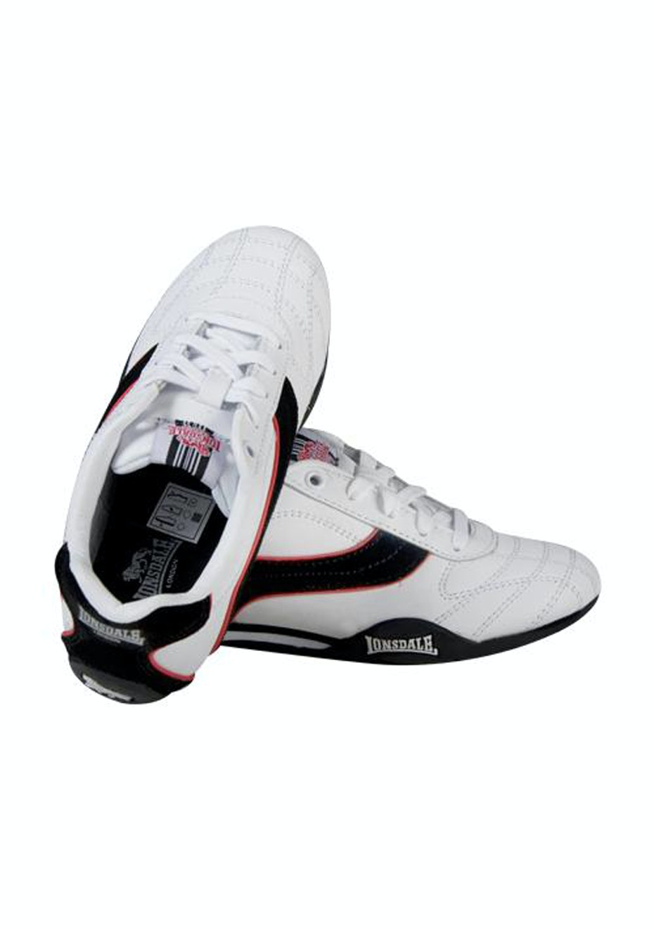 Lonsdale Kids - Charlton - White/Black