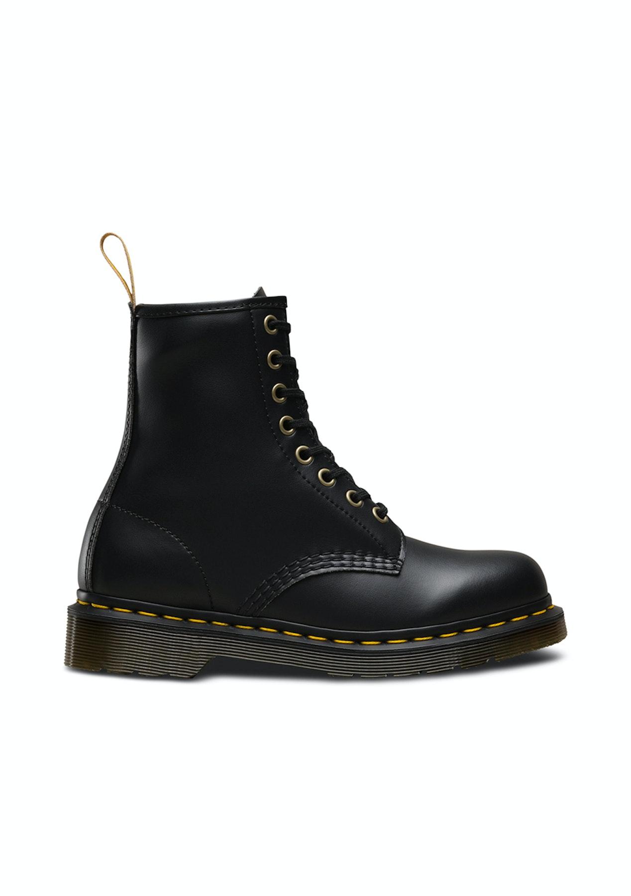 6649ae70766 Dr Martens - 1460 Vegan 8 Eye Boot - Black - Dr Martens - Onceit
