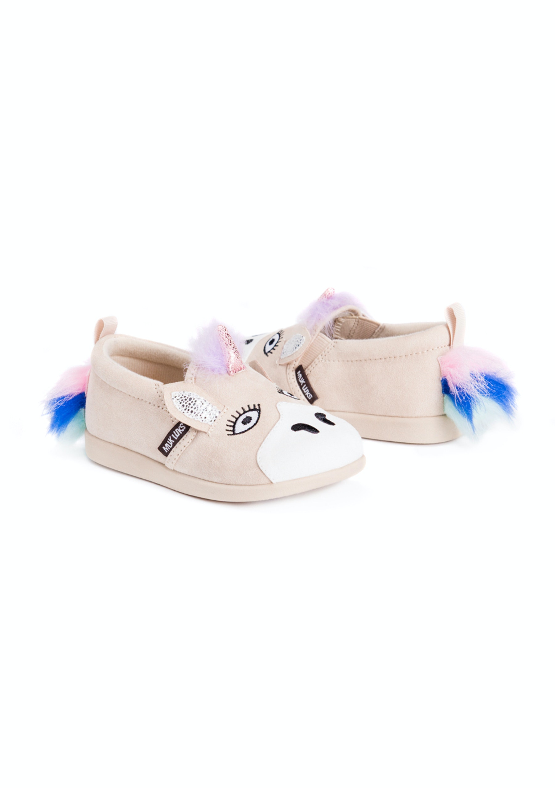 Muk Luks Zoo Baby Shoes Luna Unicorn Cozy Slippers for the Whole