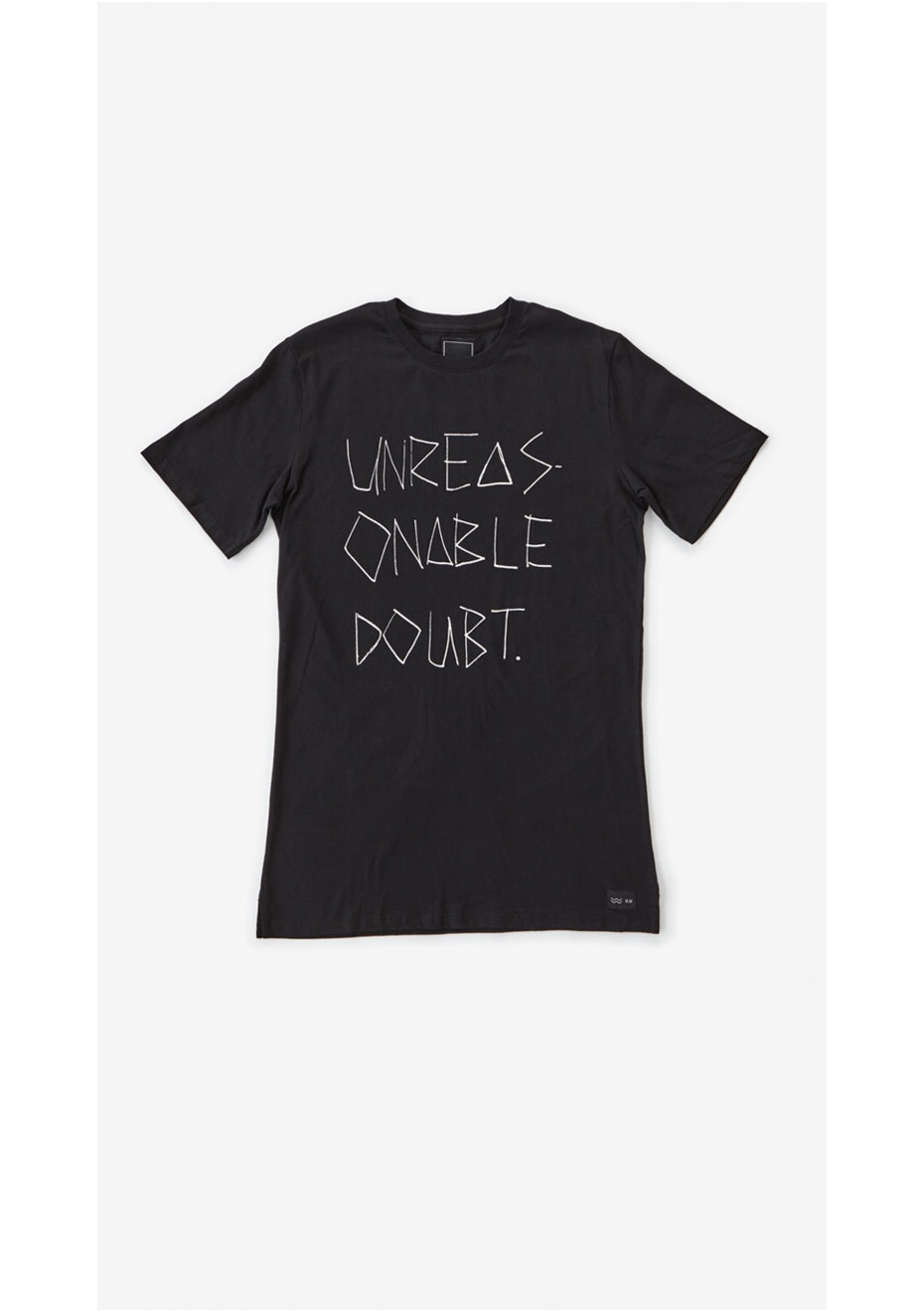 I Love Ugly - Unreasonable Doubt Tee Black