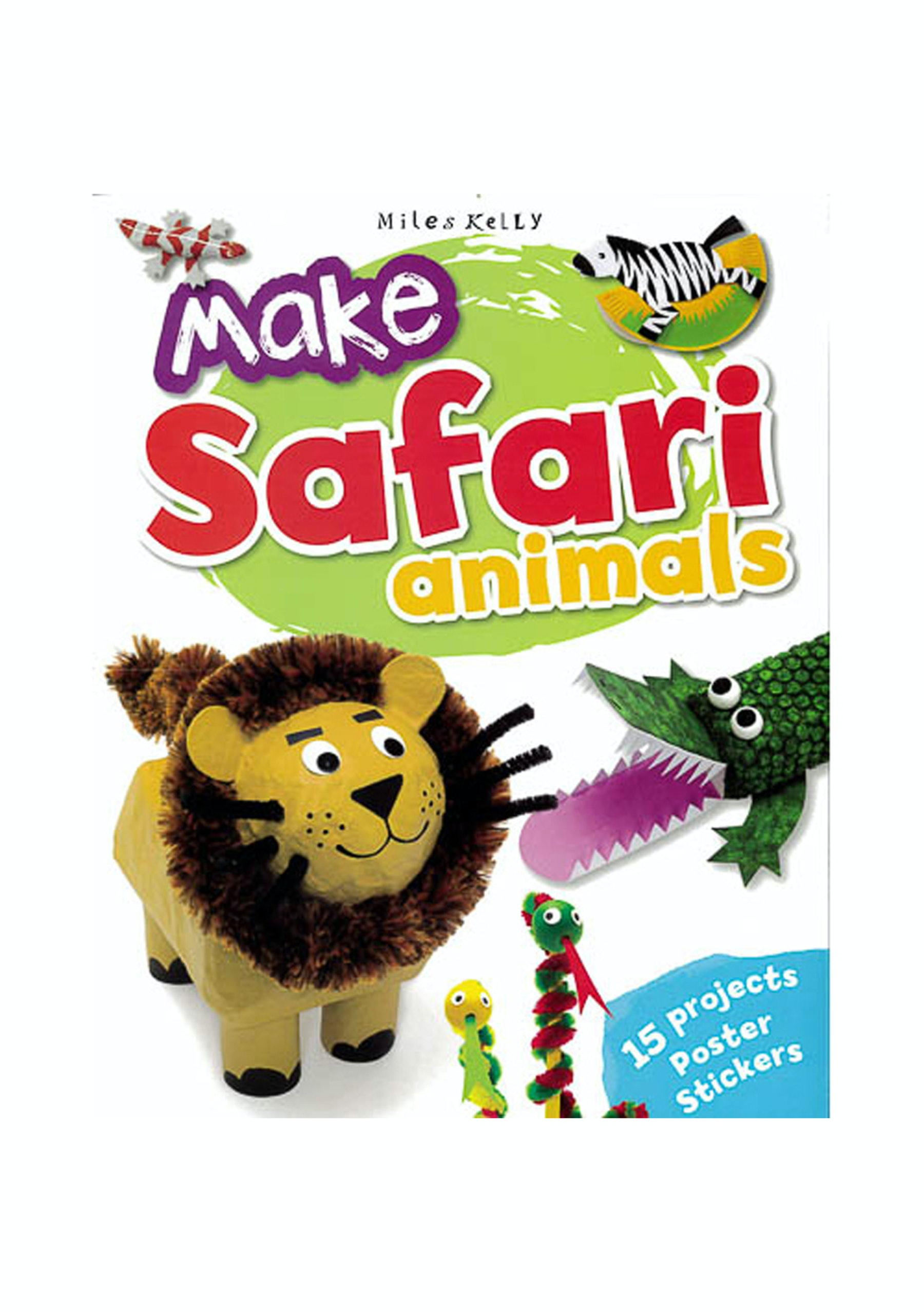 Make Jungle Animals 15 Animal Crafts Kids Book Gift Guide Onceit