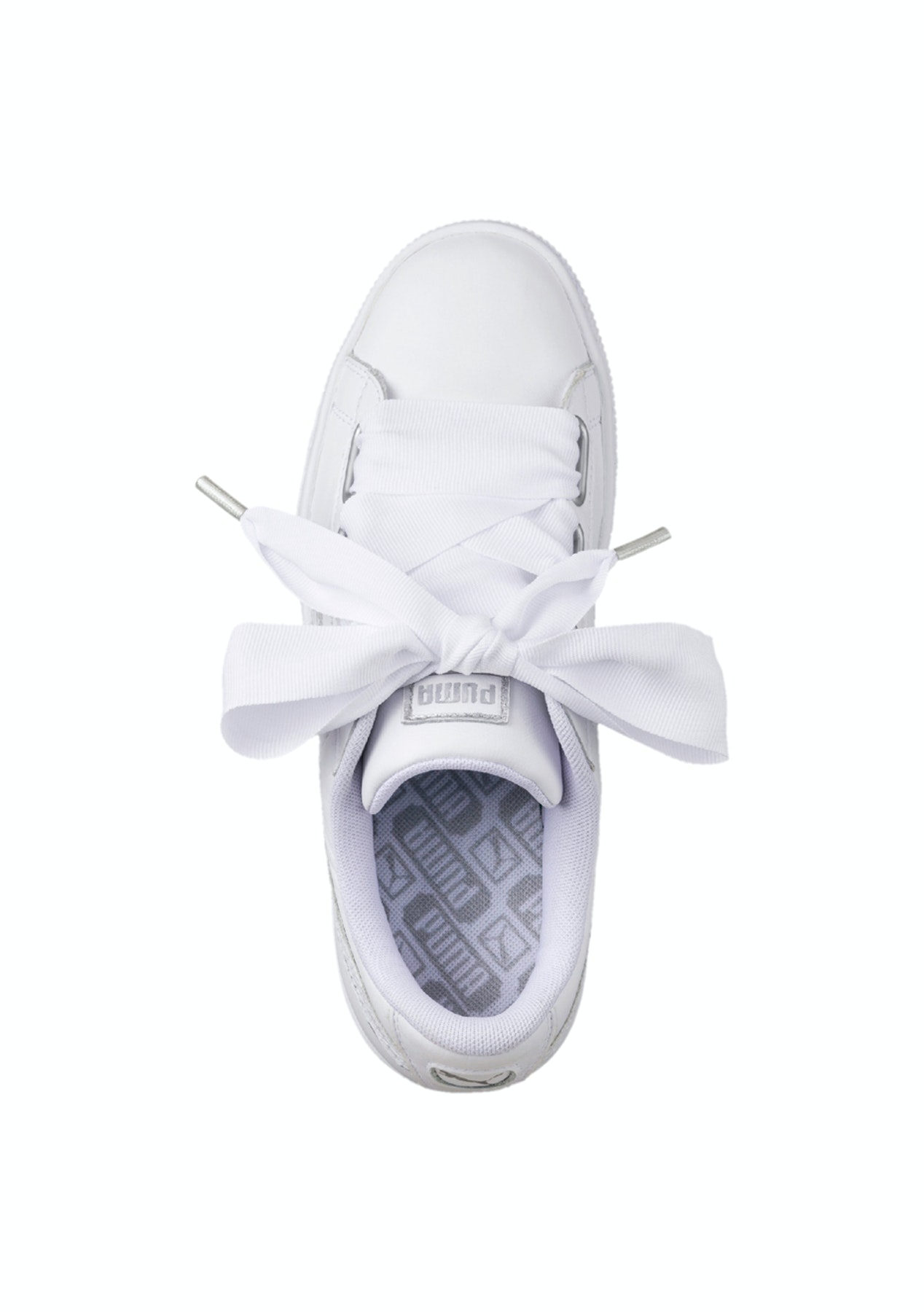 newest collection d8fb8 1d5a0 Puma Womens - Basket Heart Oceanaire - White
