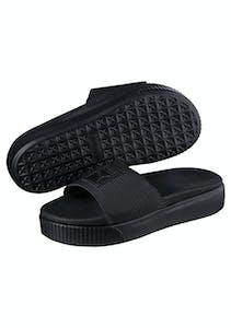 ab8b8ce66cd Puma Womens - Platform Slide Ep - Black