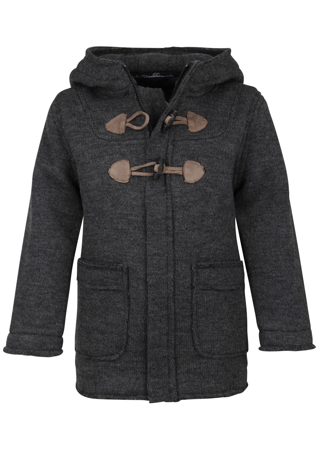 652a205e1 Boys Dreimaster Dufflecoat - Light Grey - DreiMaster Kids - Onceit