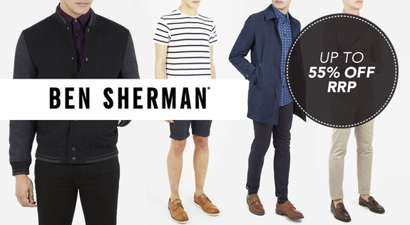 Image of the 'Ben Sherman' sale