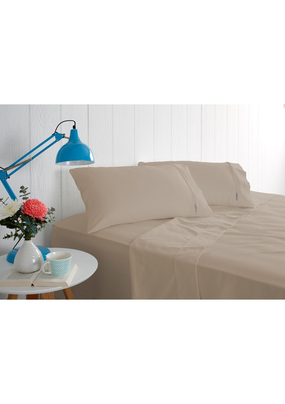 Odyssey Living 1000 Thread Count – Cotton Rich Sheet Sets - Linen - Single Bed
