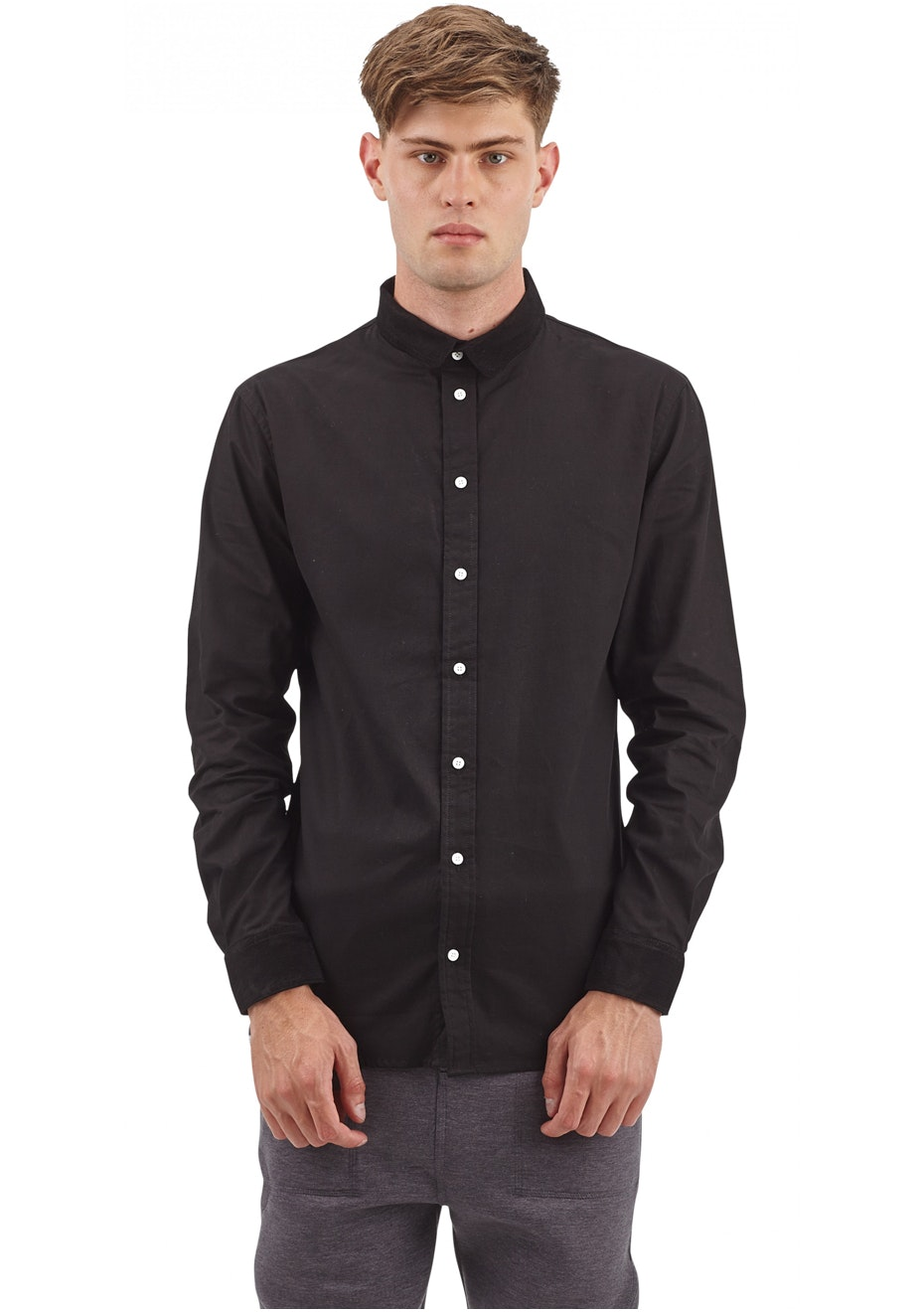 I Love Ugly - Formal Shirt Black