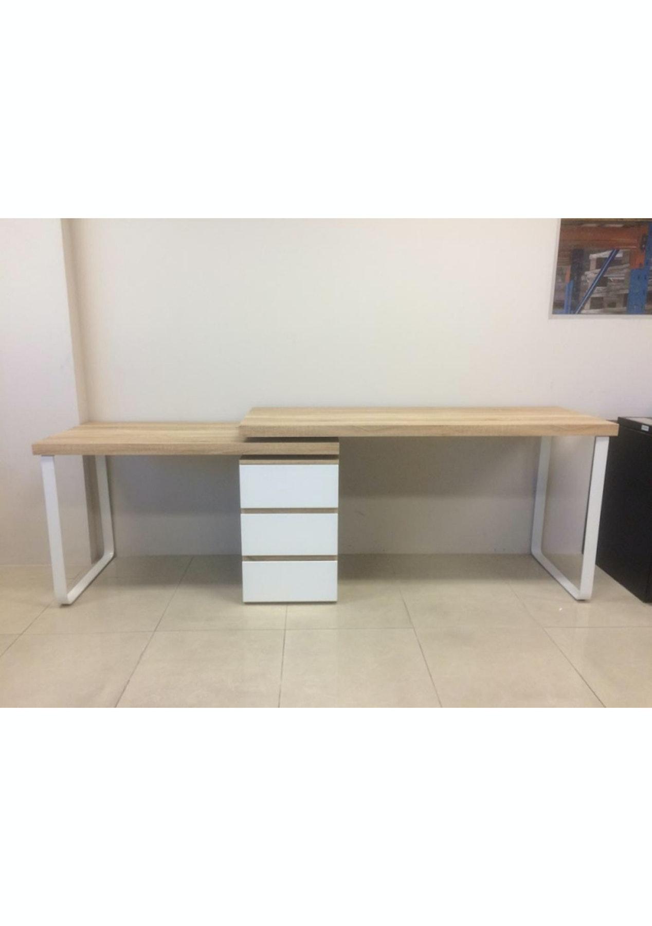 new style 7c34e 54b47 Vibe Transforming Desk - Oak