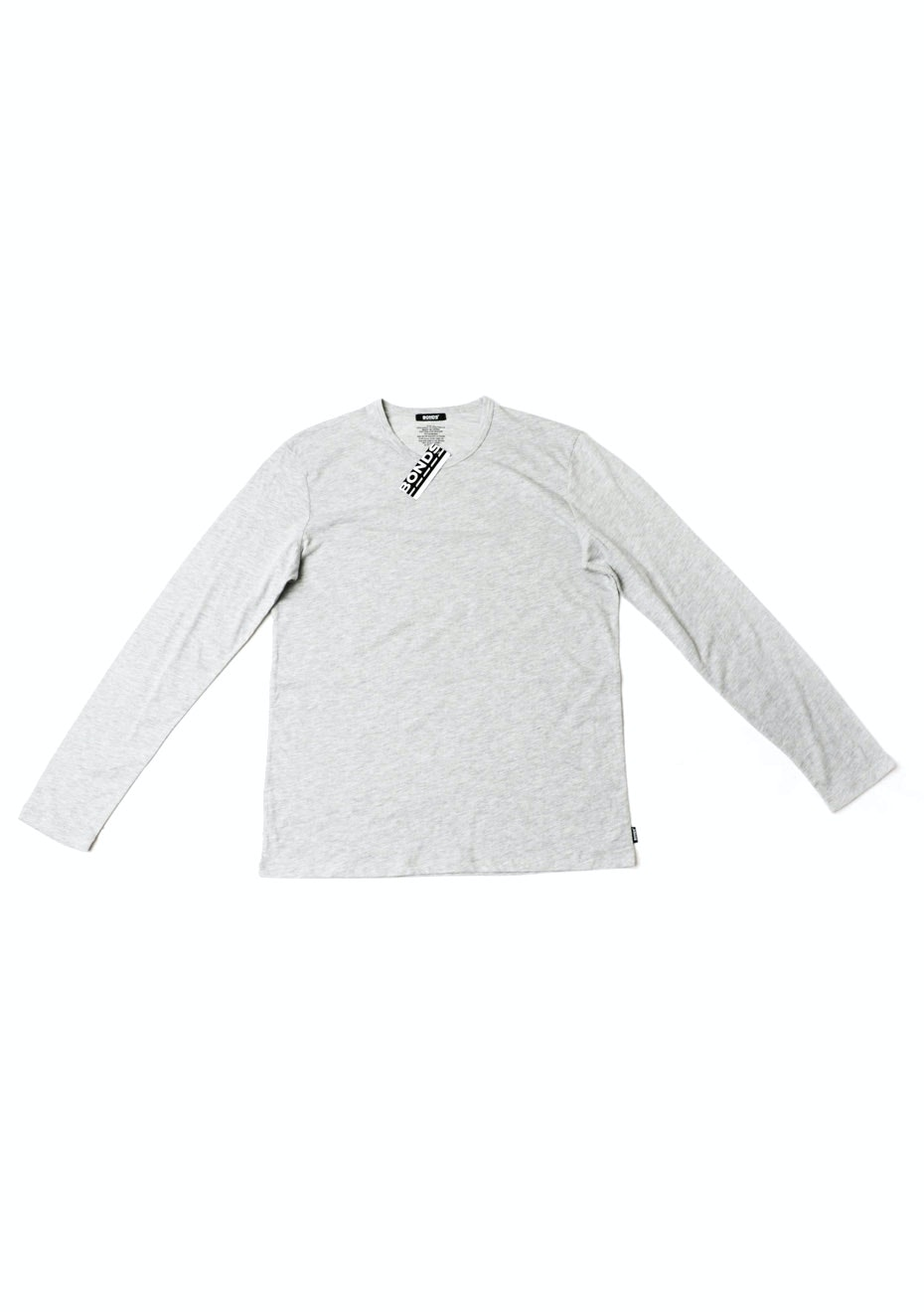BONDS - Core Long Sleeve Tee - New Grey