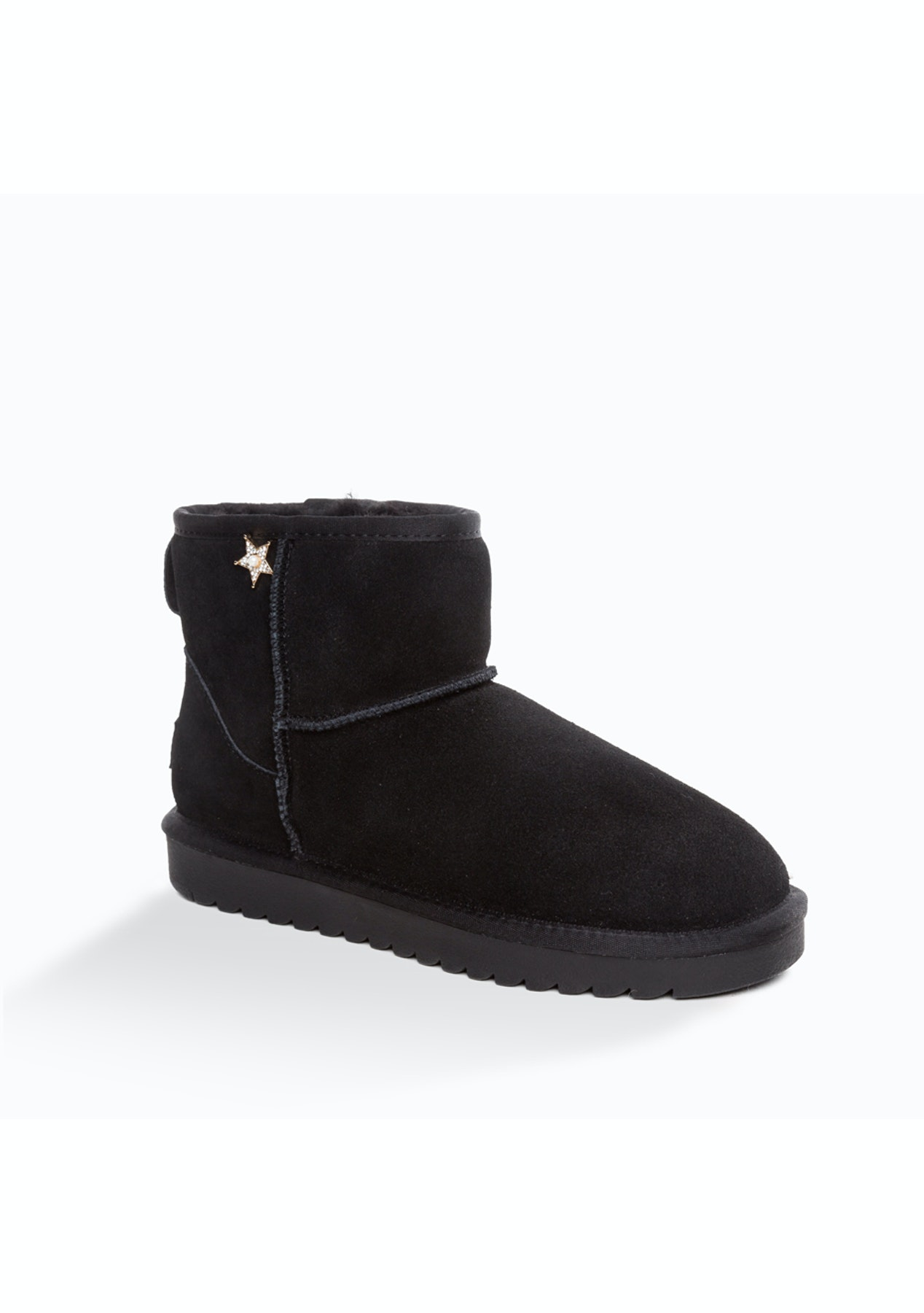 17b70fe209b Ozwear - Ugg Jaylan Mini Boots - Black