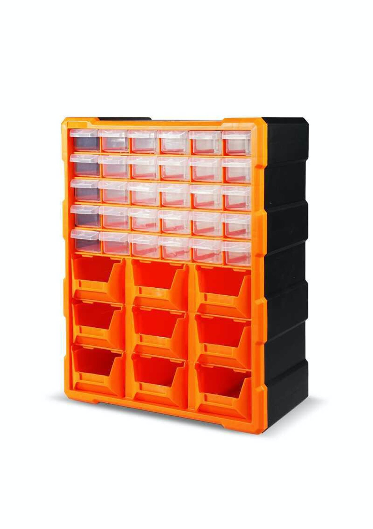 39 Drawer Plastic Parts Organizer Storage Box
