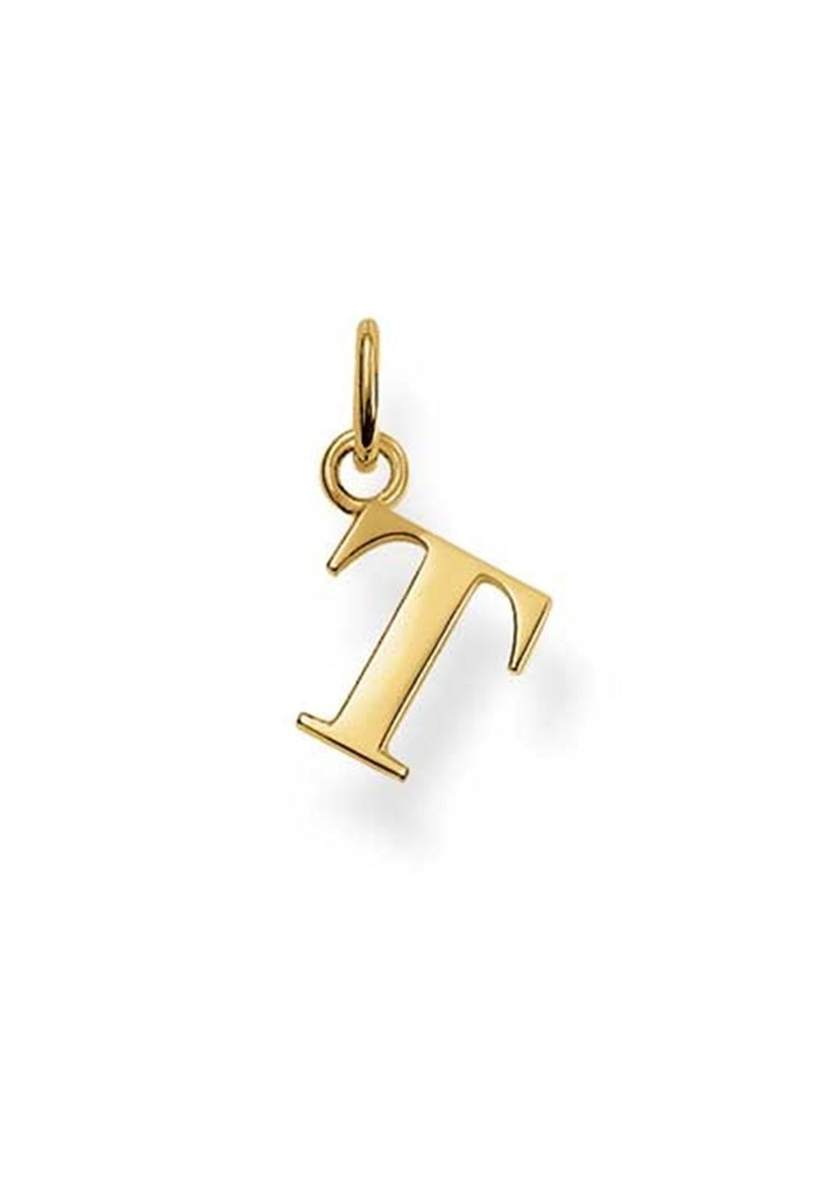 Thomas Sabo  - T' Pendant - Yellow Gold Plated