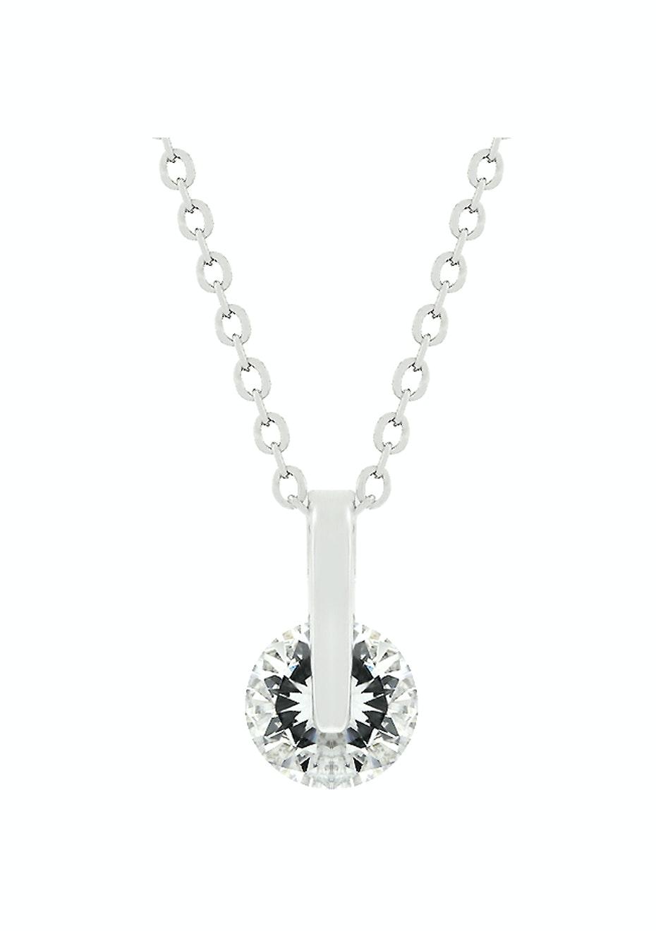 Elegant Tear Drop Pendant Necklace Set