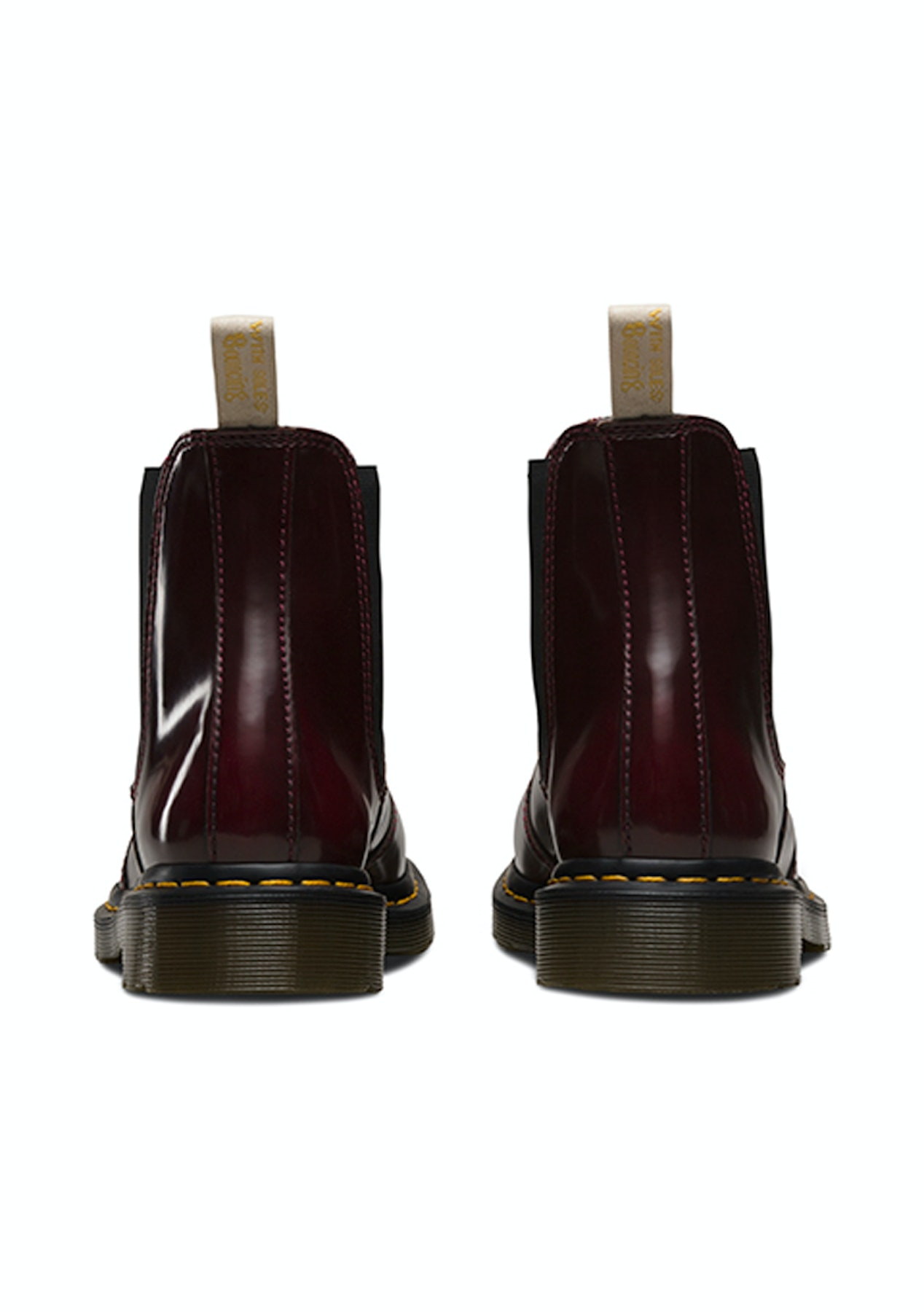 26de4e32185 Dr Martens - 2976 Vegan Chelsea Boot - Cherry Red