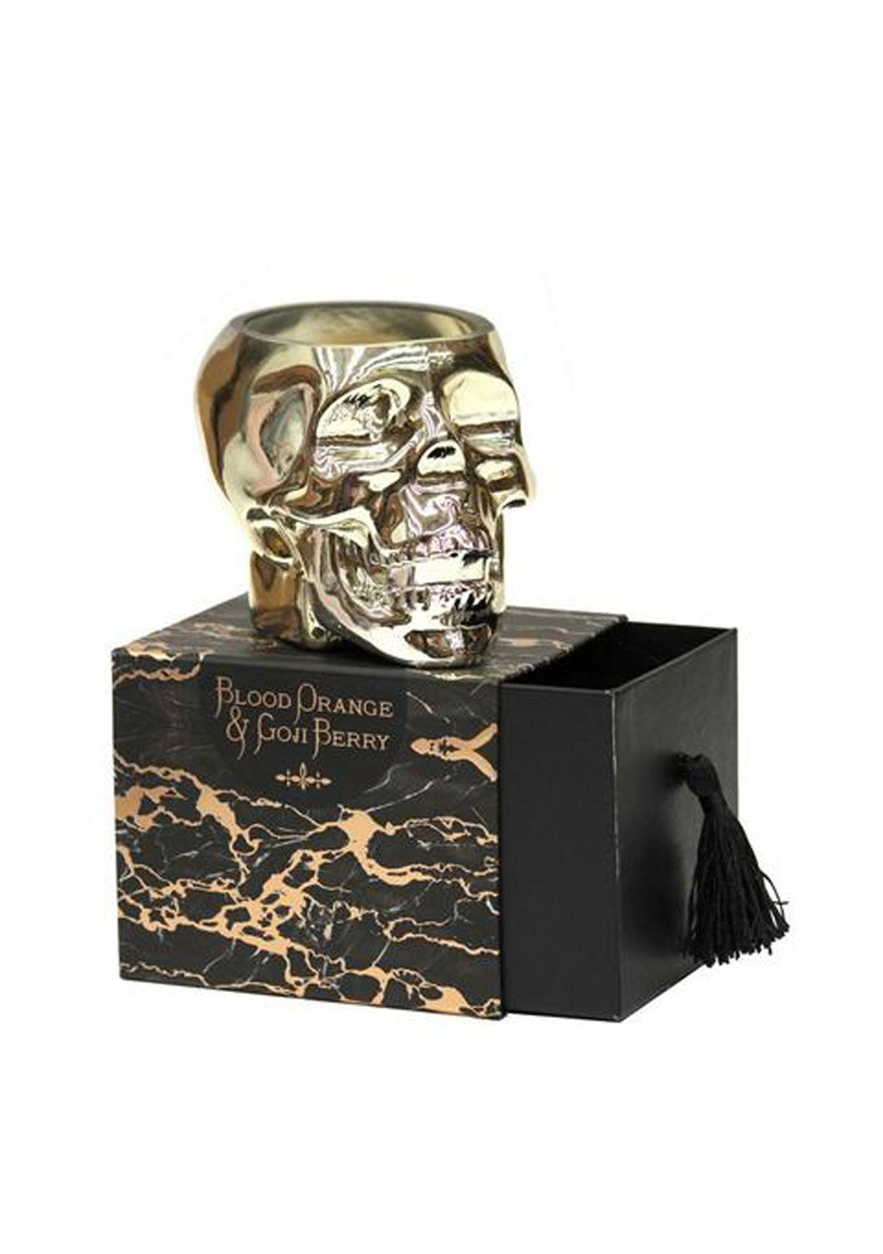 Me & My Trend - Gold Skull Orange and Goji Berry Candle