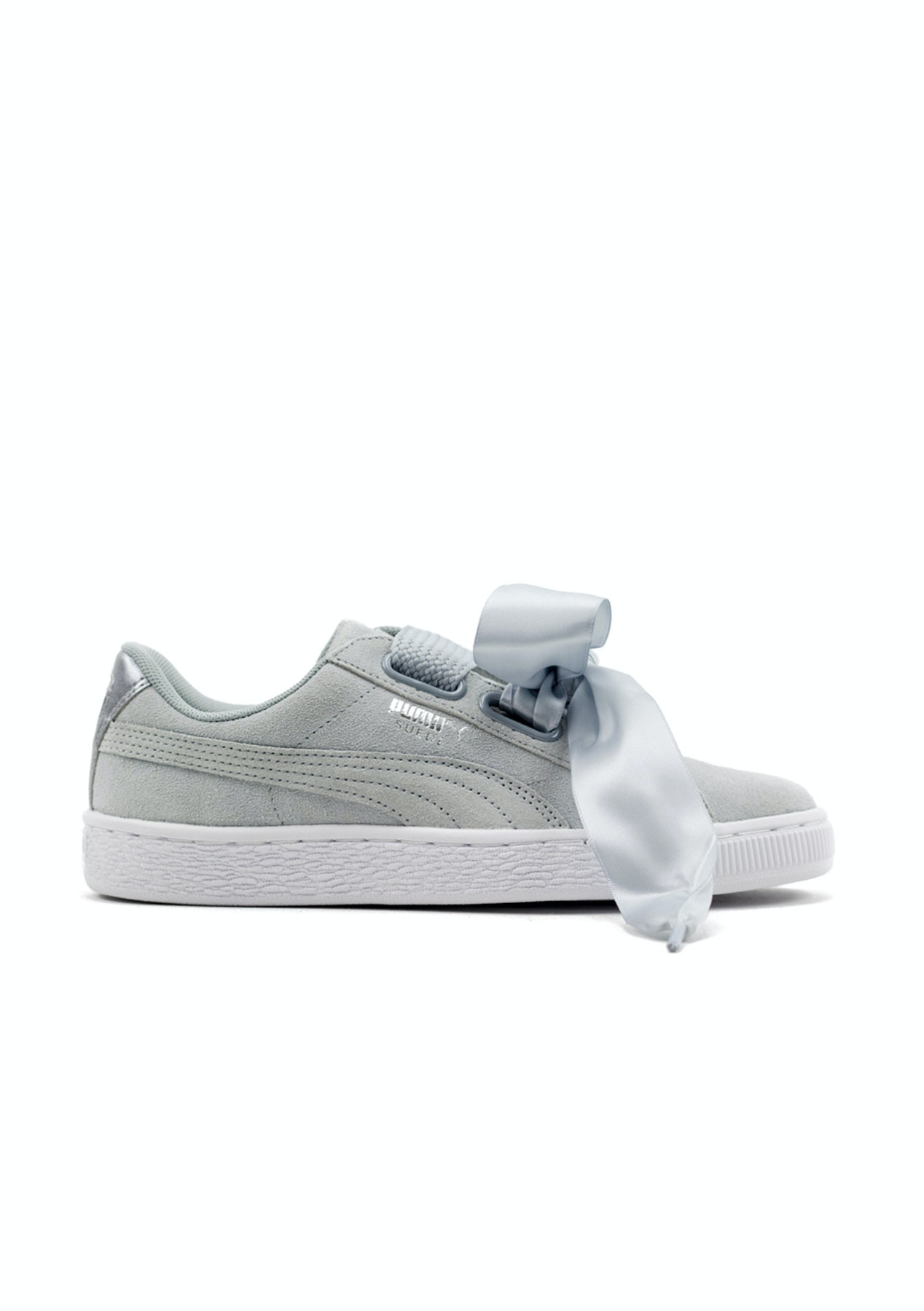new product b9f32 883ae Puma Womens - Suede Heart Safari Quarry