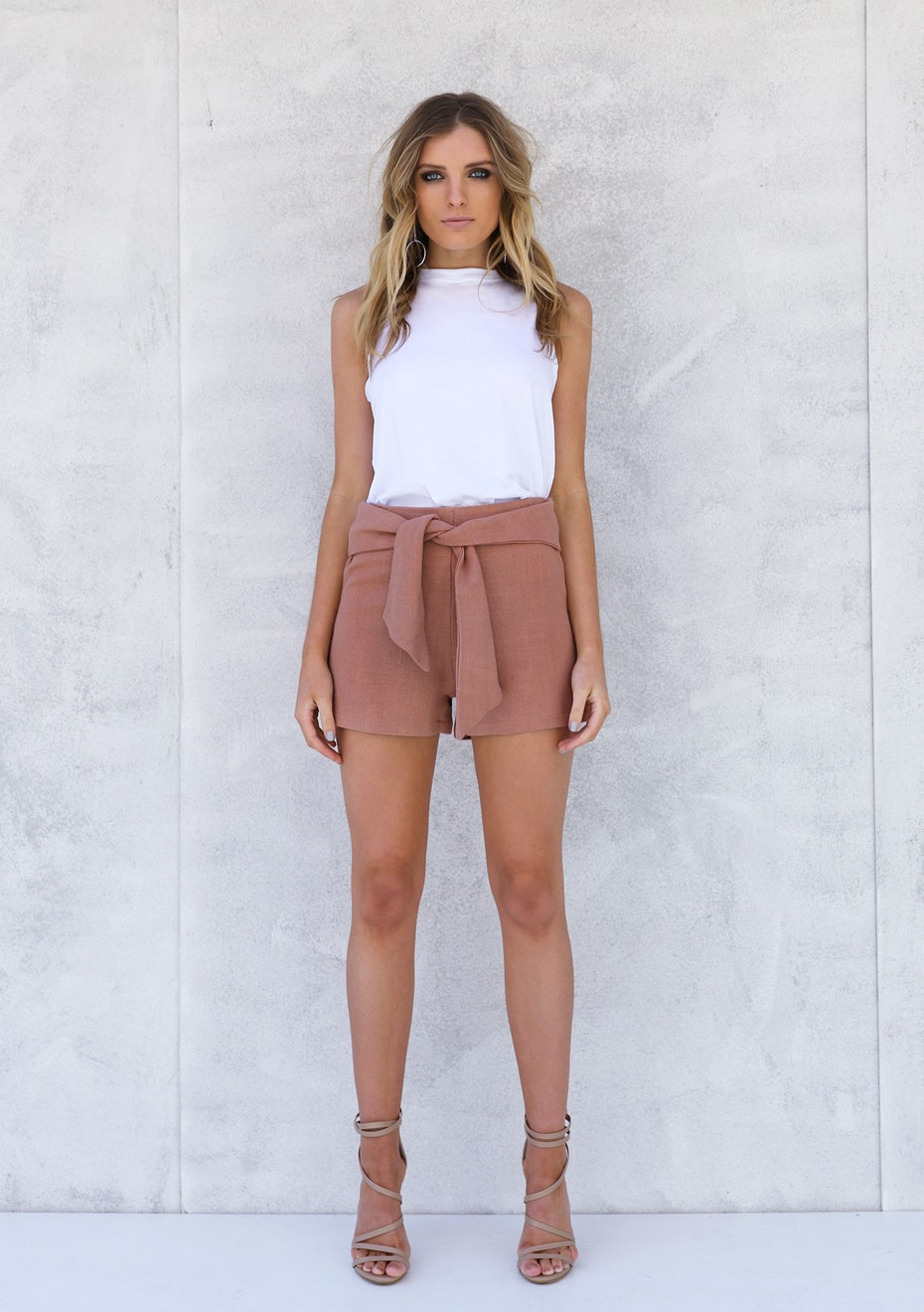Madison - ZELI SHORTS - RUST