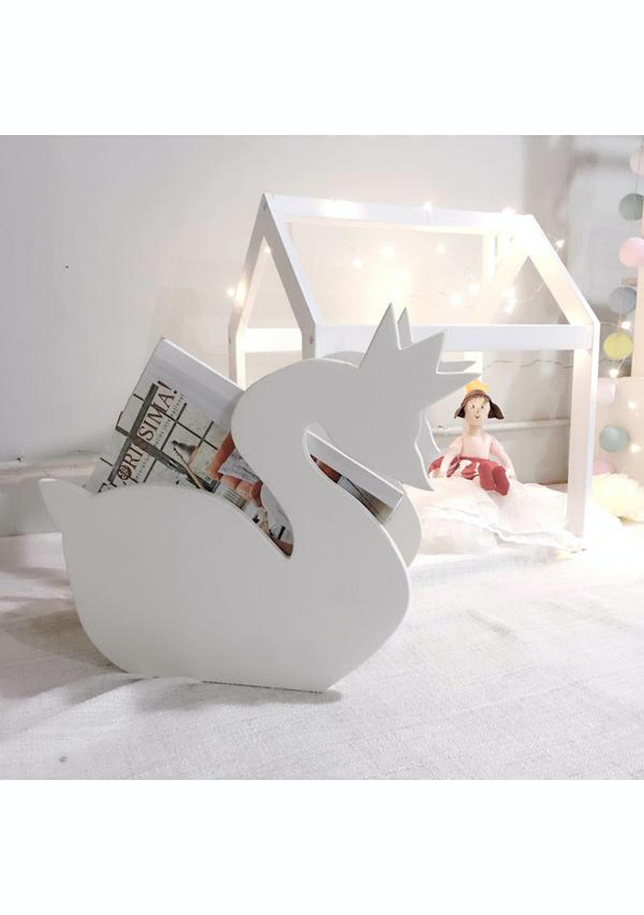 Mini Me - Wooden Swan Book Storage