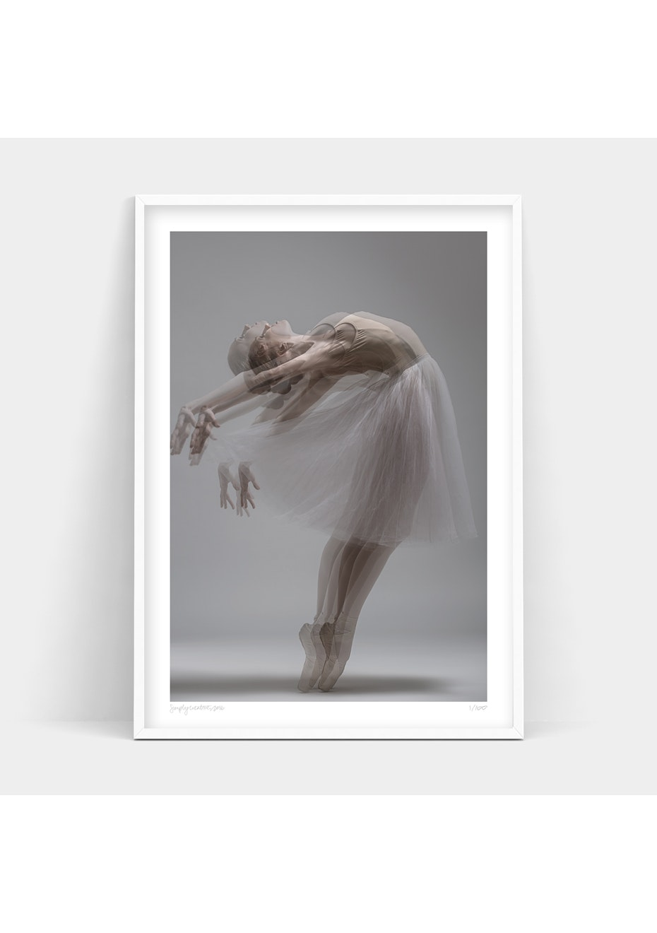 Simply Creative - Reflection Of Grace - A2 Colour Limited Edition Print