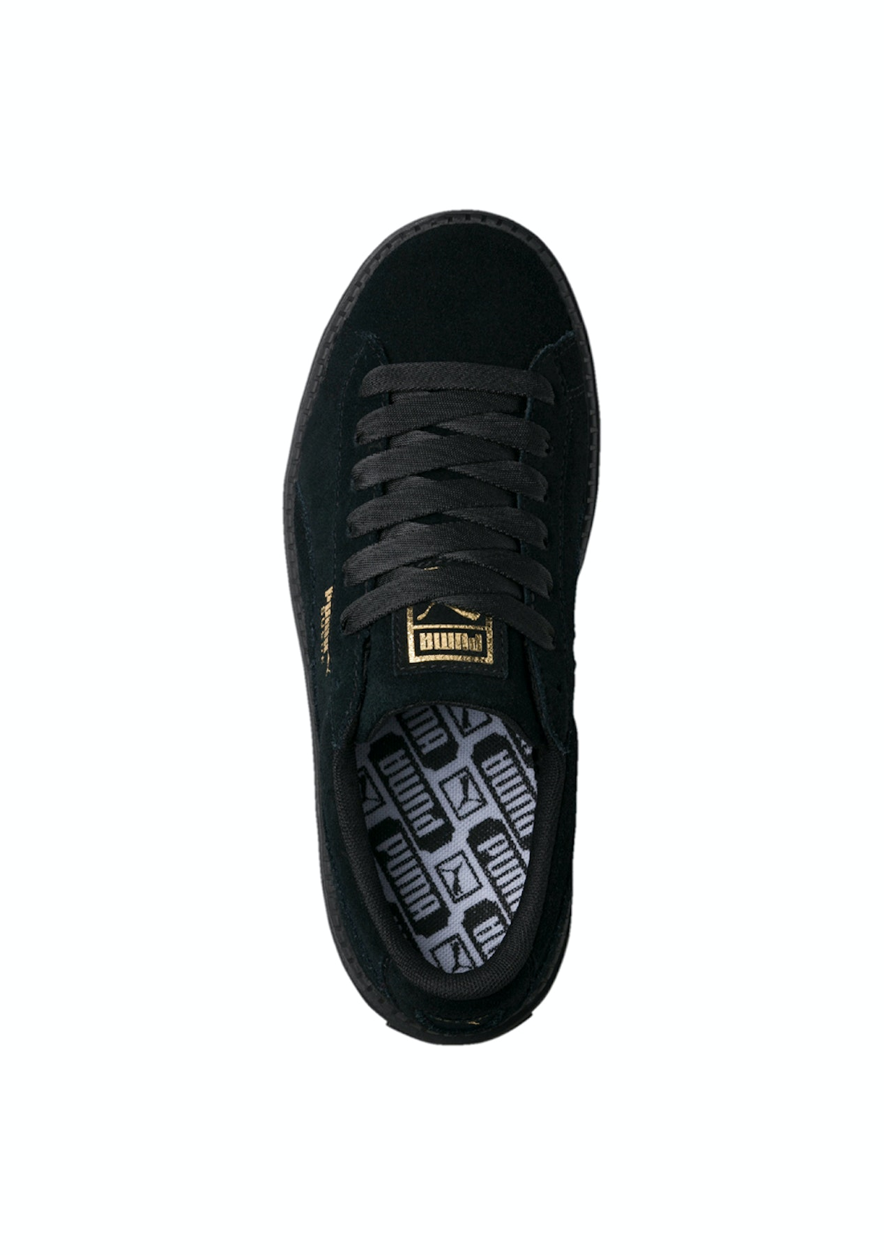 eade8895190 Puma Womens - Suede Platform Trace- Black - Big Brand Activewear Reductions  - Onceit