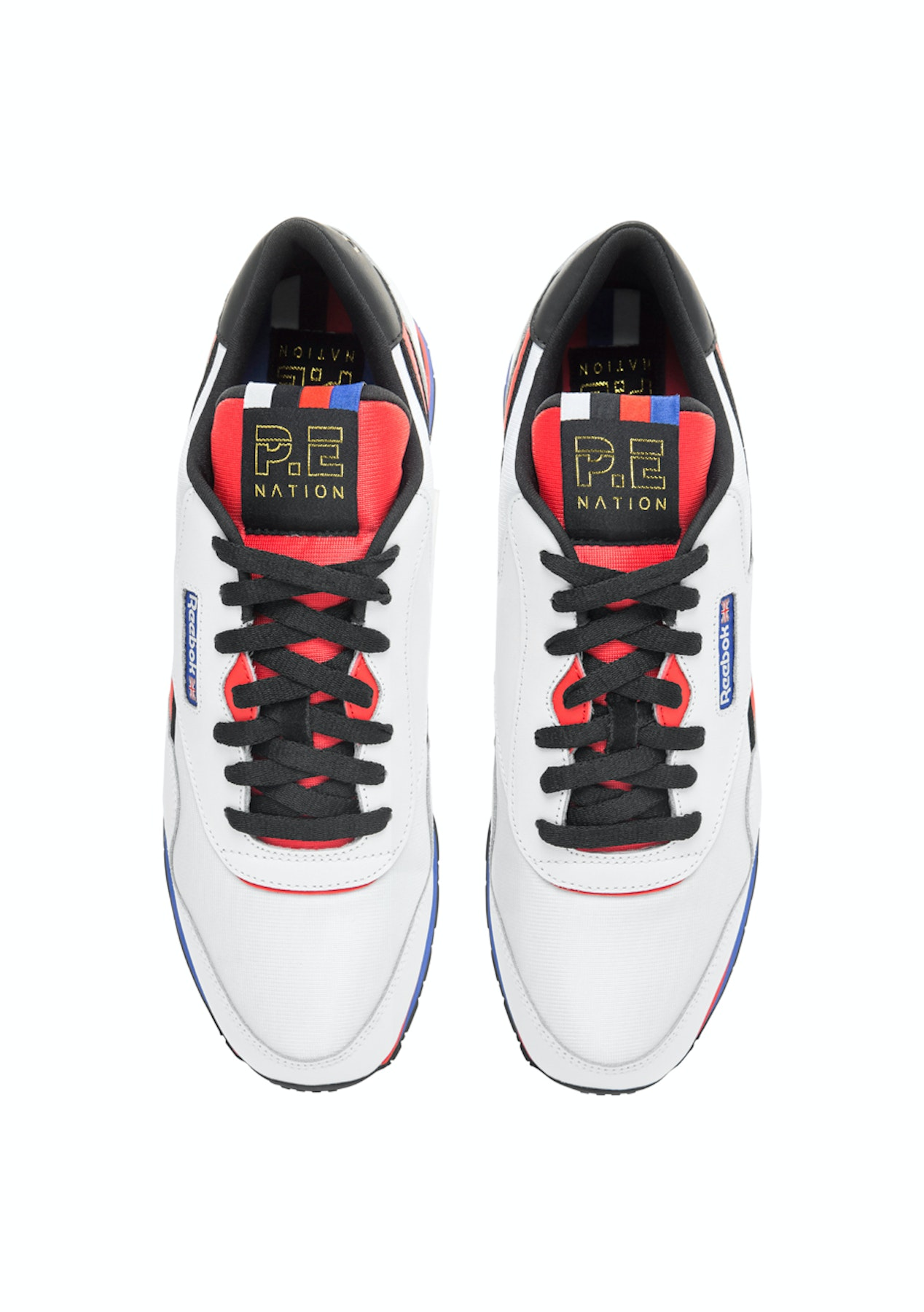 845786efd2322f Reebok x PE Nation Classic Nylon Trainer - White - The Big Activewear Sale  - Onceit