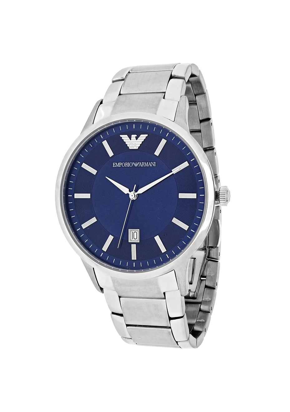 Armani Men's Classic - Blue/Silver