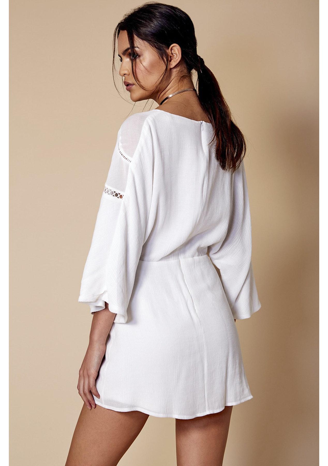 9ae35f555dd1 Winona Australia - Zara Playsuit - White - Winona Australia - Onceit