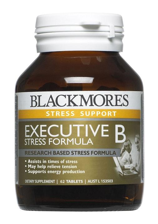 Executive B Stress Formula Tabs