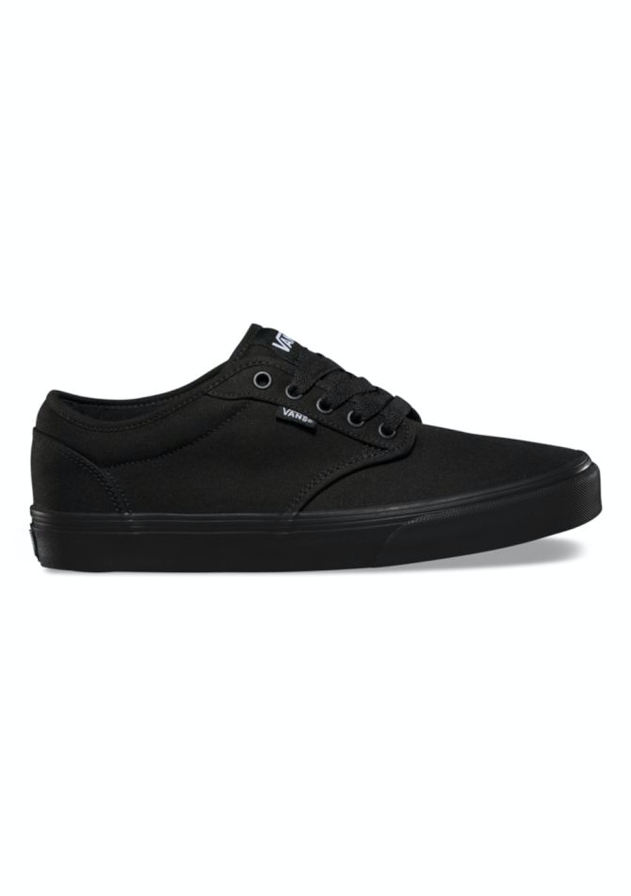 Vans - Womens Atwood Low - Canvas - Black Black - Free Shipping Street  Shoes + Slides - Onceit 0ccb80c0c