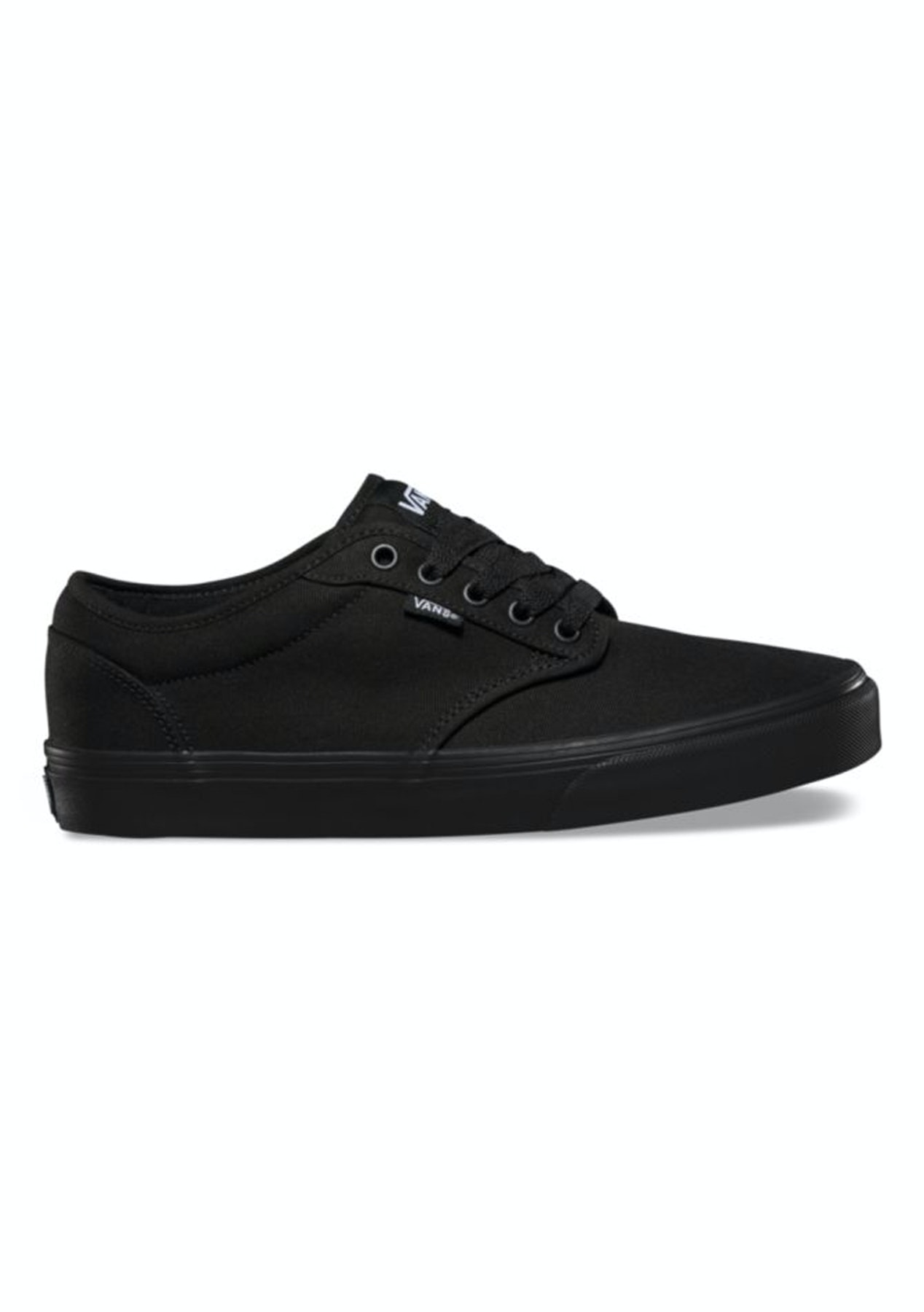 Vans - Womens Atwood Low - Canvas - Black Black - Free Shipping Street  Shoes + Slides - Onceit b81468914efc