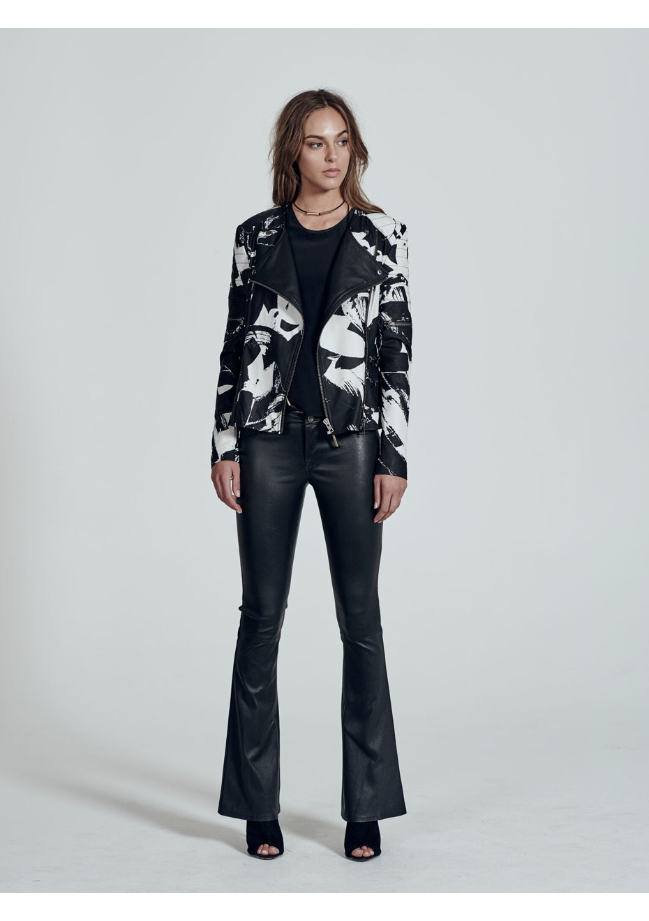 West 14th - Greenwich Street Motor Jacket - All Over Print - Print