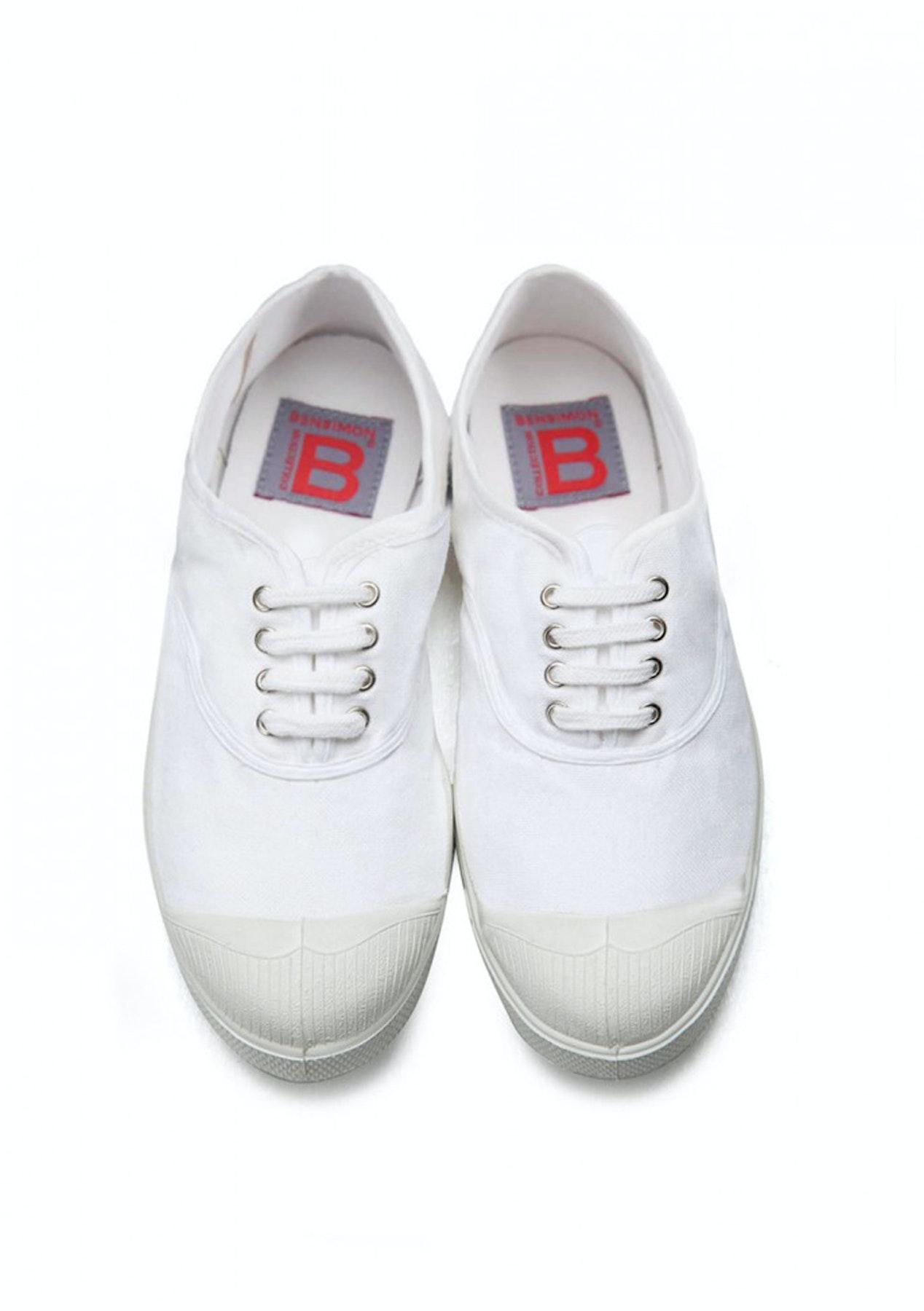 ae161bdbf Bensimon - Tennis Lacet Femme - White