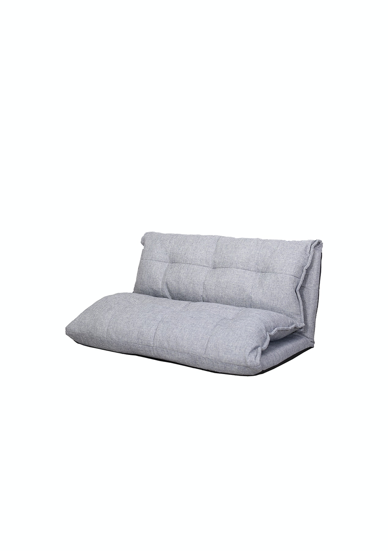 Pleasant Double Folding Sofa Lounge Chair Grey Cjindustries Chair Design For Home Cjindustriesco