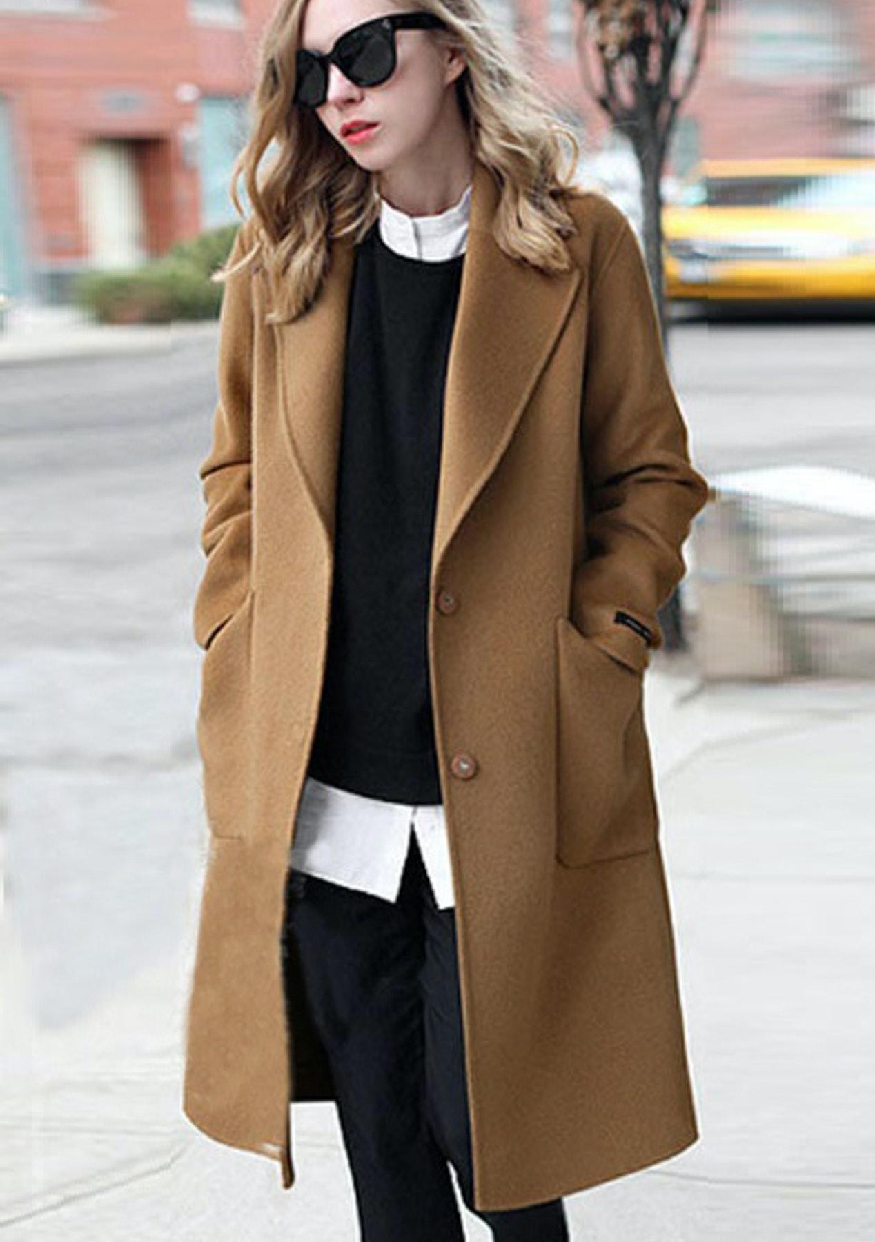 b86dfee3 Fashion Edit. - Meredith Coat - Camel