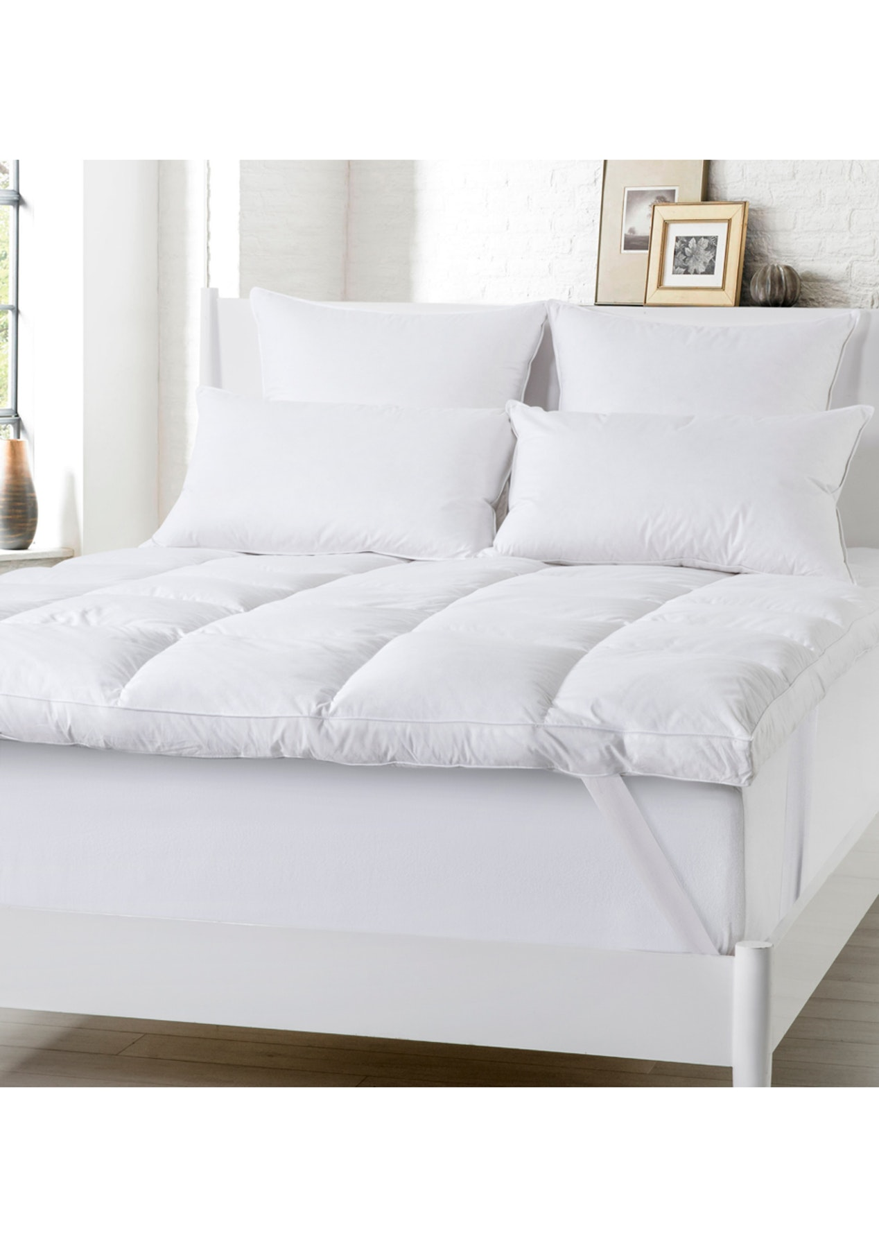 King Bed Grand Atelier Luxury 25 Down 75 Duck Feather Mattress