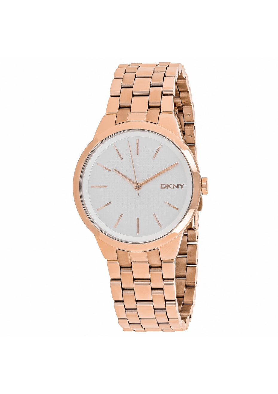 DKNY Women's Park Slope - Silver/Rose gold