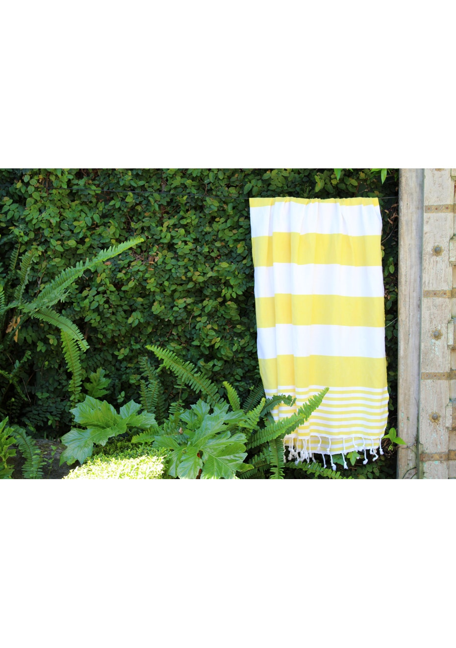 Ladon Bright Yellow Turkish Towel
