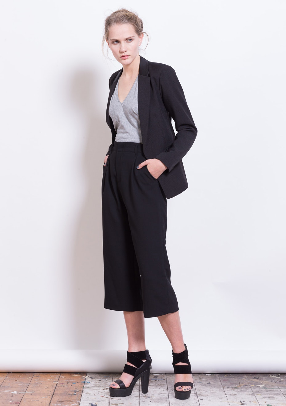 X-Plain - Aesthetic Destiny Blazer - Black