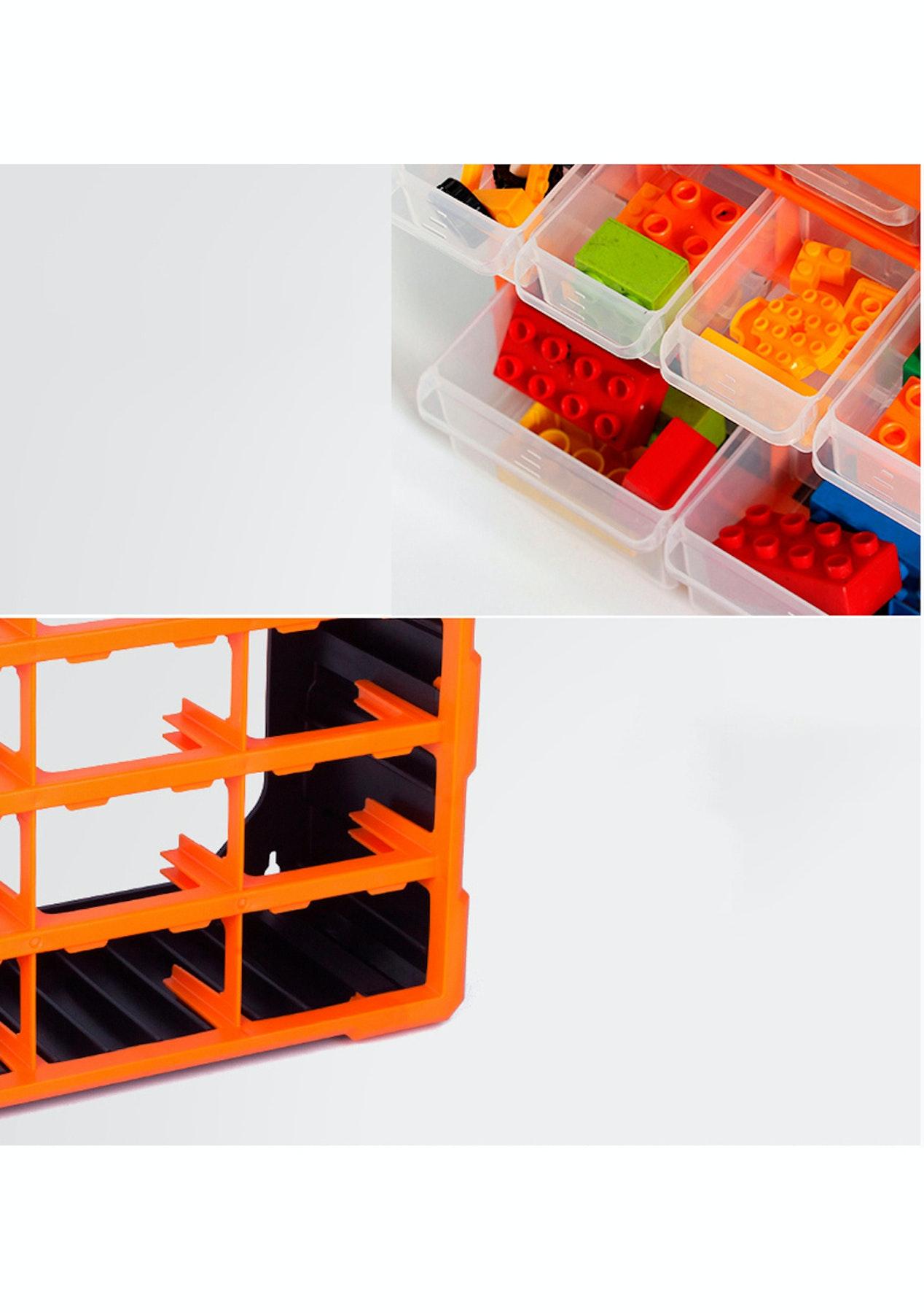 60 Drawer Plastic Parts Organizer Storage Box