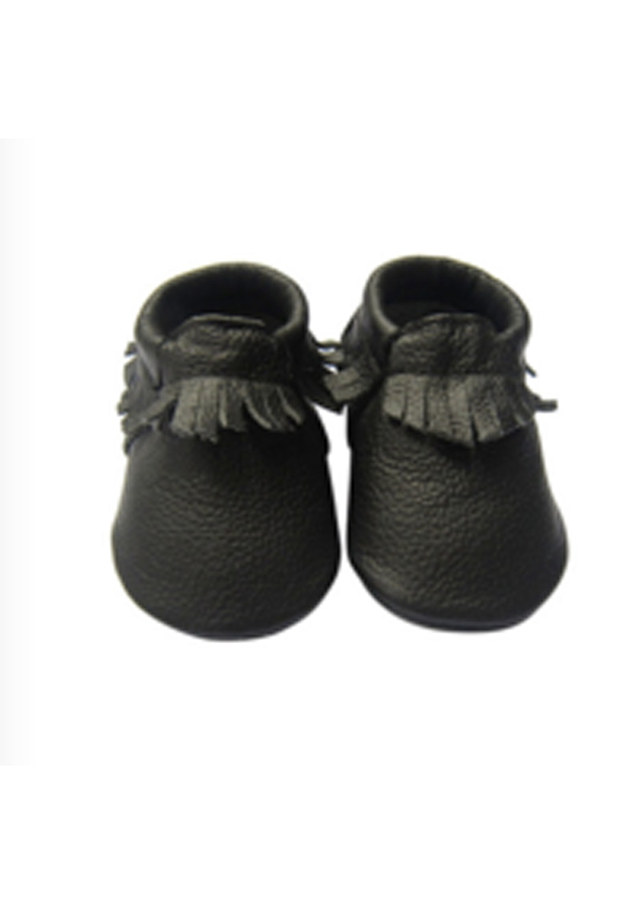 Baby  Leather Shoes - Black