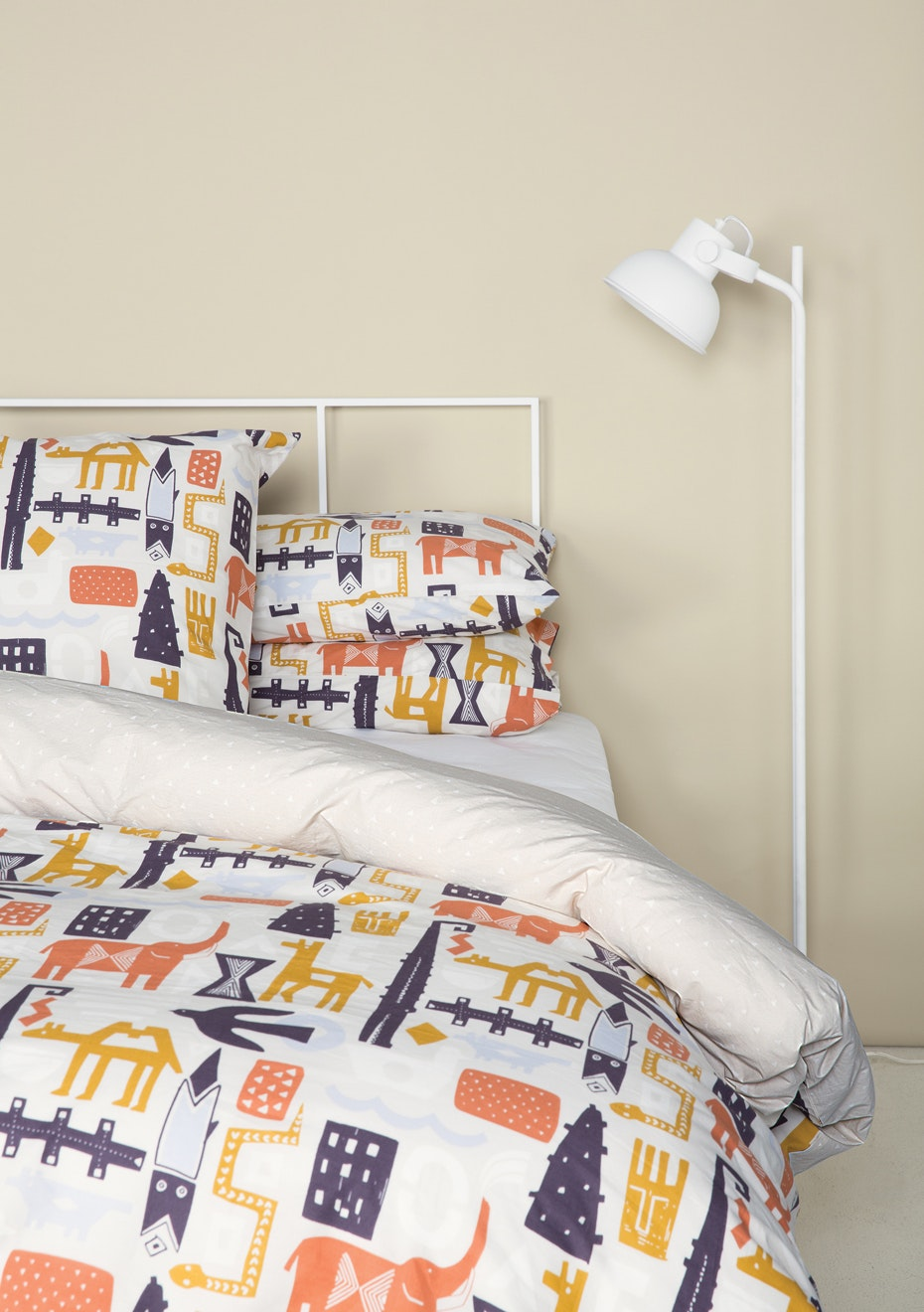 Città - Bintu Reversible Duvet Cover Multi - King Single