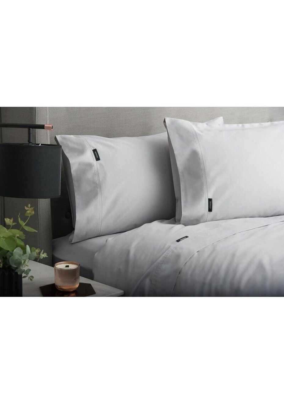 Sheraton Luxury 1000 TC CVC Sheet Set King Single Bed   Dove Grey    Sheraton Mega Sale   Onceit