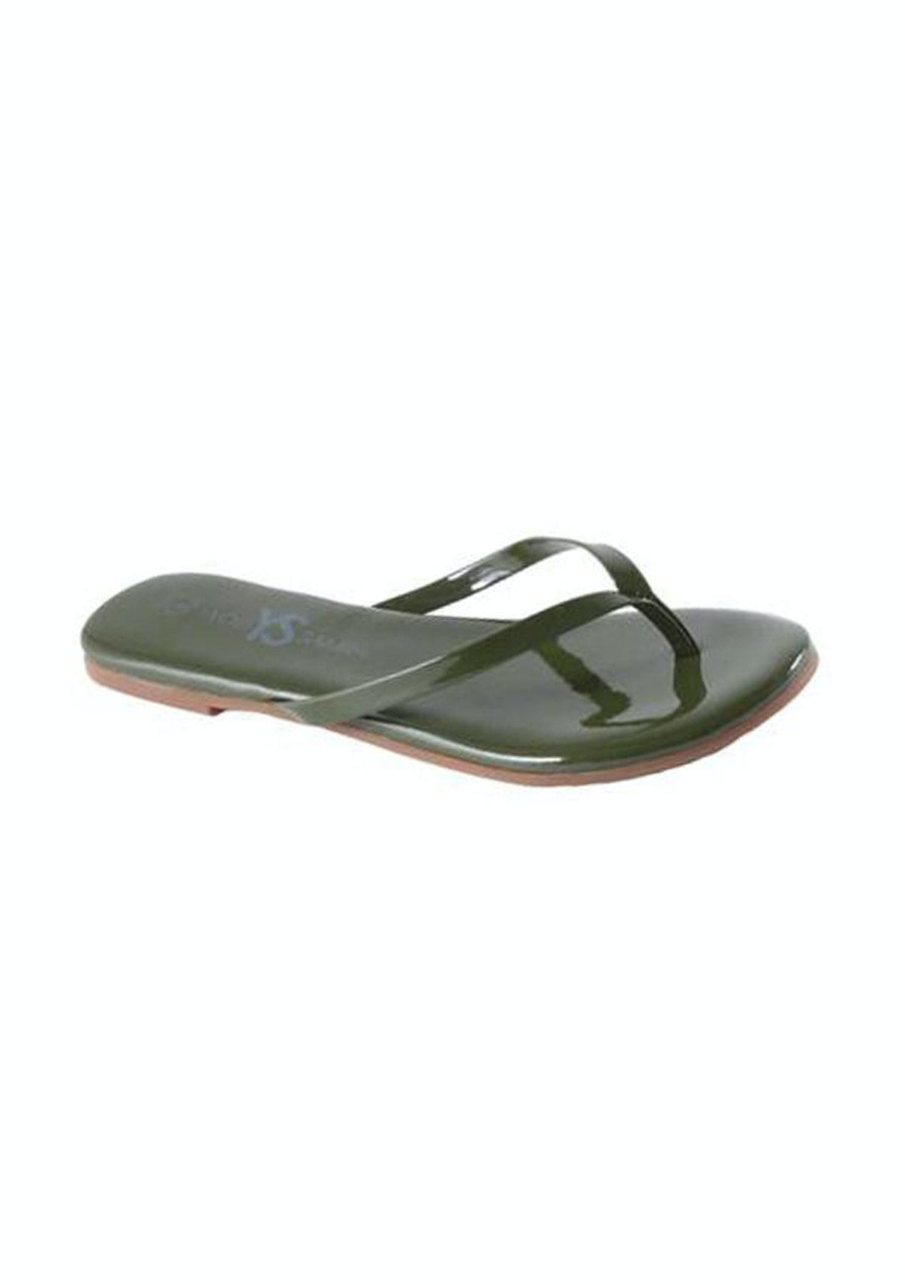 0a762ebc73e40 Yosi Samra - Roee Patent leather -Olive green