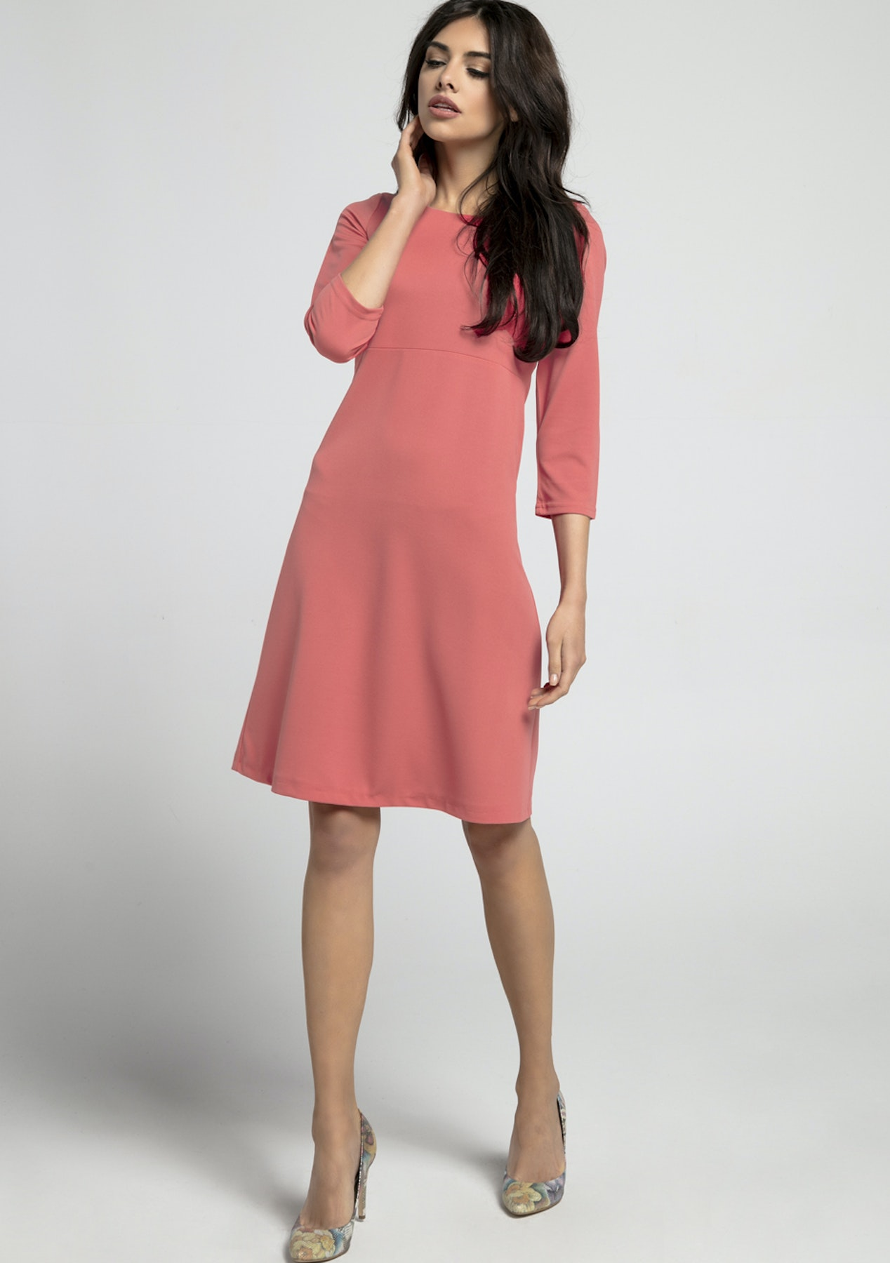 2920e8fc5197 1st Sominium - Knit Dress - Raspberry - Spring Fashion Nothing Over  70 -  Onceit