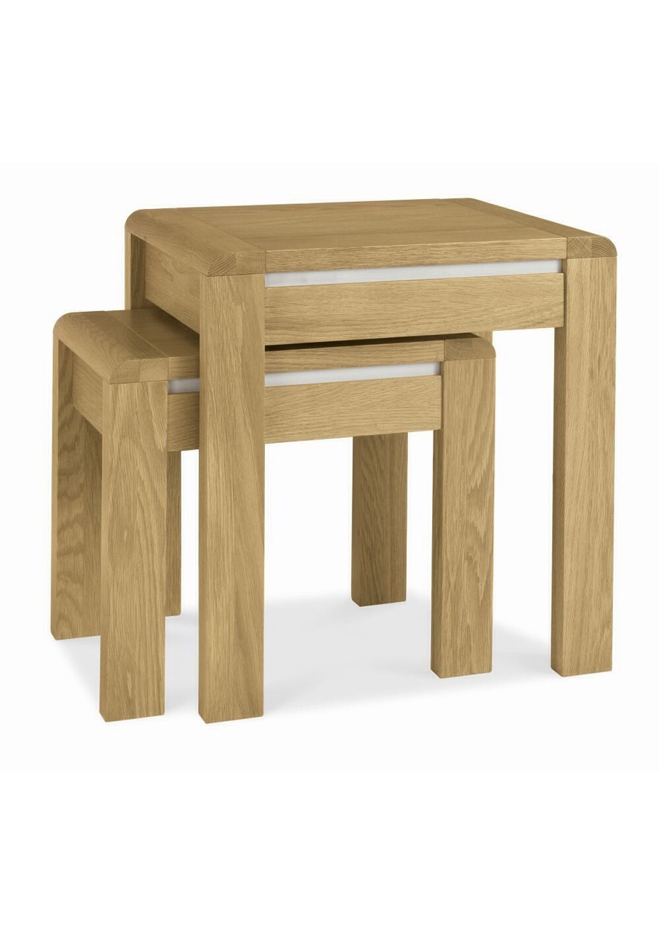 Furniture By Design - Casa Oak Nest of Tables- Light Oak