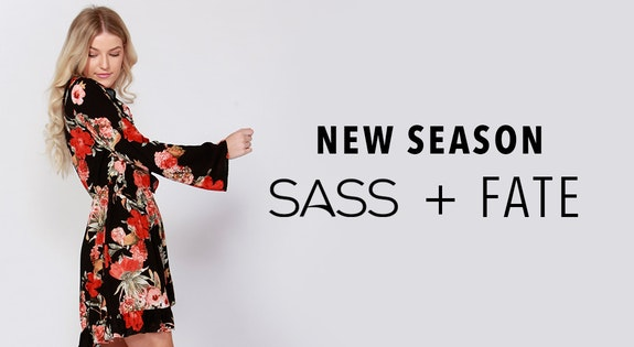 All New Sass & Fate From $12.95