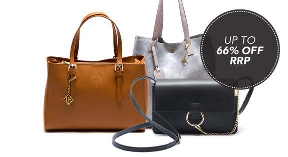 Image of the 'Luxe Leather Bags' sale